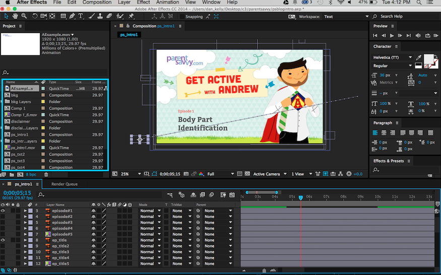 adobe after effects program overview