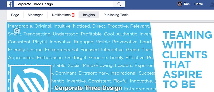 Mastering Page Insights on Facebook | Corporate Three Design