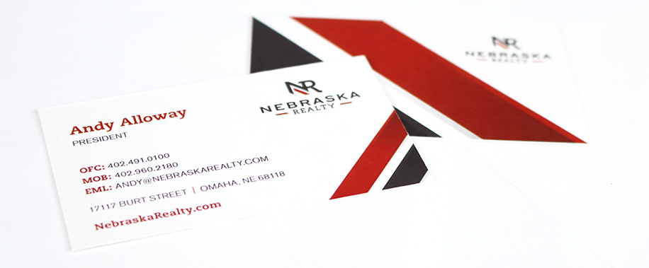 Why business cards still matter corporate three design 402 398 3333 nebraska realty business cards colourmoves