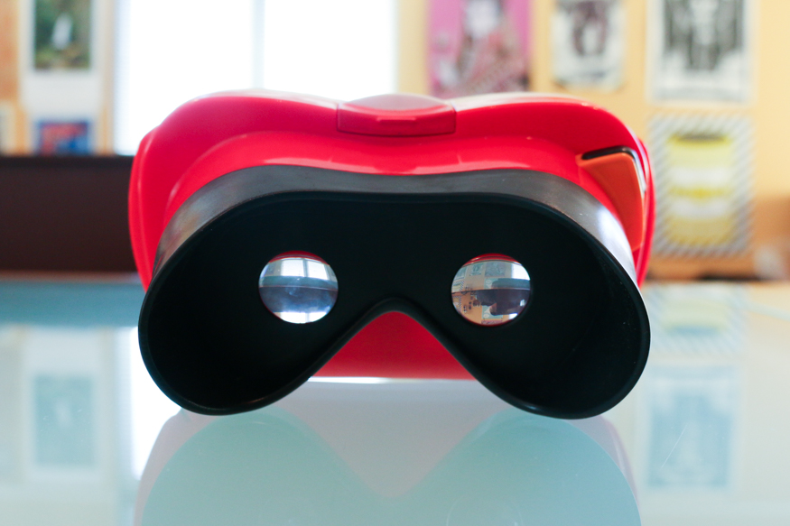 view-master smartphone virtual reality headset
