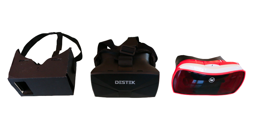 smartphone VR headsets comparison