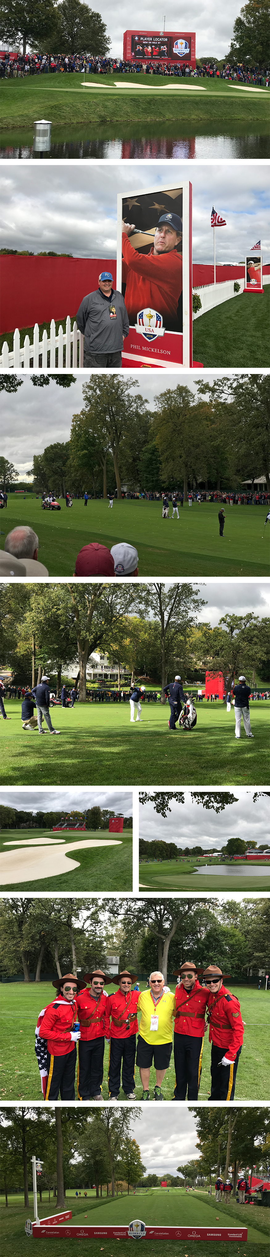 ryder cup 2016 iphone7 photography