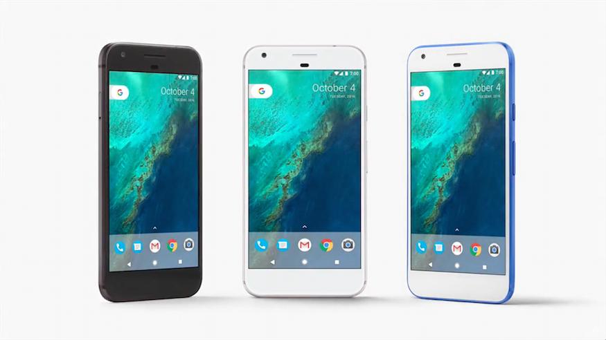 google pixel xl design