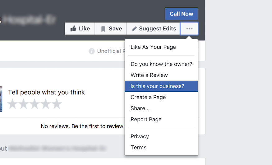 how to merge unofficial pages with verified pages on Facebook