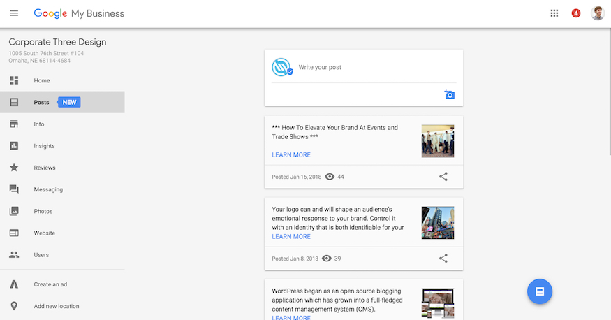 Google Posts tutorial on Google My Business