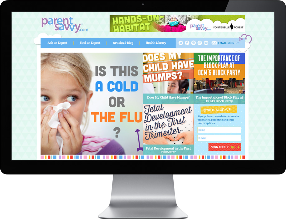 ParentSavvy Branding and Strategy Pieces | Corporate Three