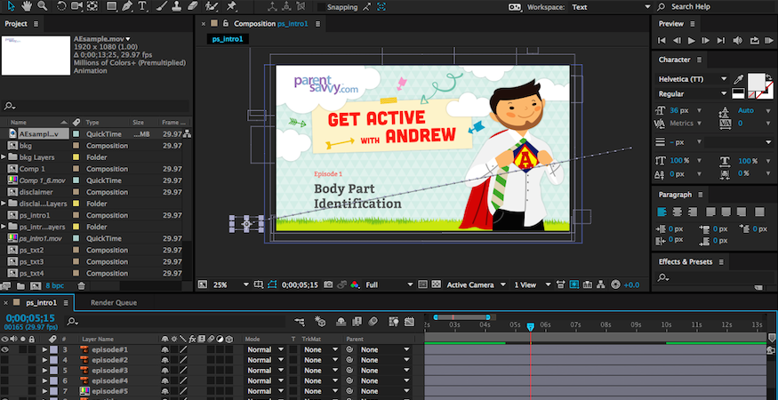 How To Animate Adobe Illustrator Files In After Effects | Corporate